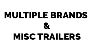 Multiple Brands & Misc Trailers white background